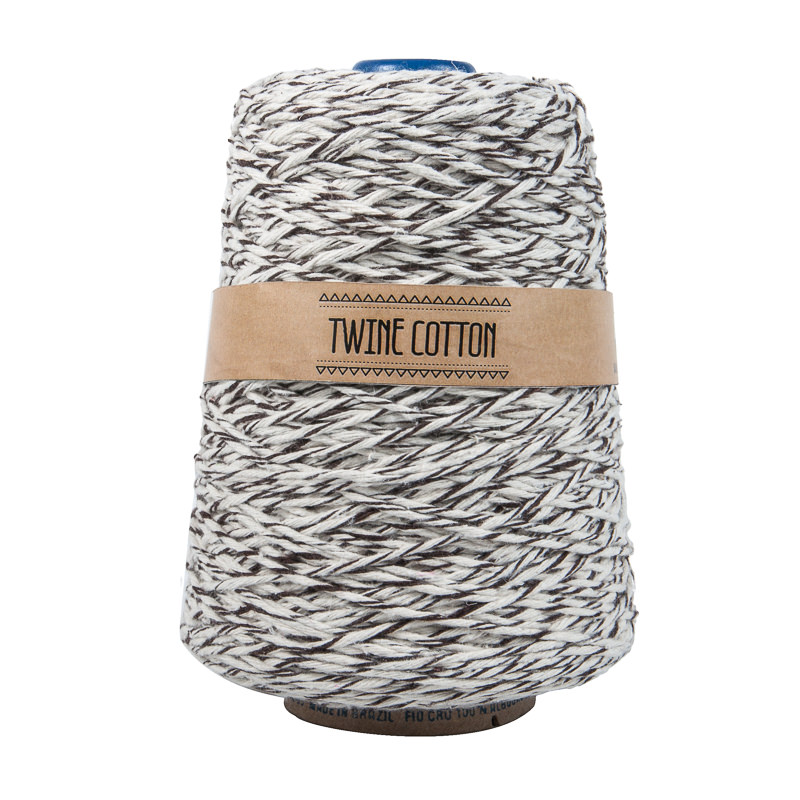 Twine Cotton Bicolor - Marrom