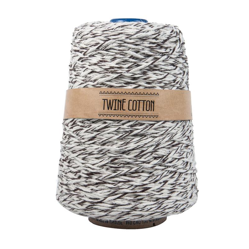 Twine Cotton Bicolor - Marrom