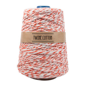 Twine Cotton Bicolor - Laranja