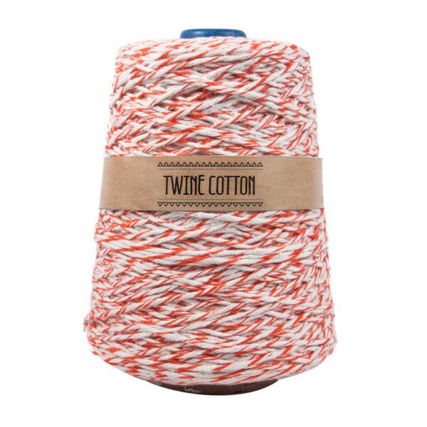 Twine Cotton Bicolor – Laranja