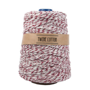 Twine Cotton Bicolor - Vinho