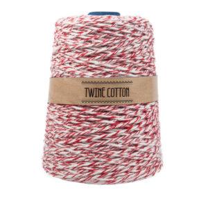 Twine Cotton Bicolor - Vermelho