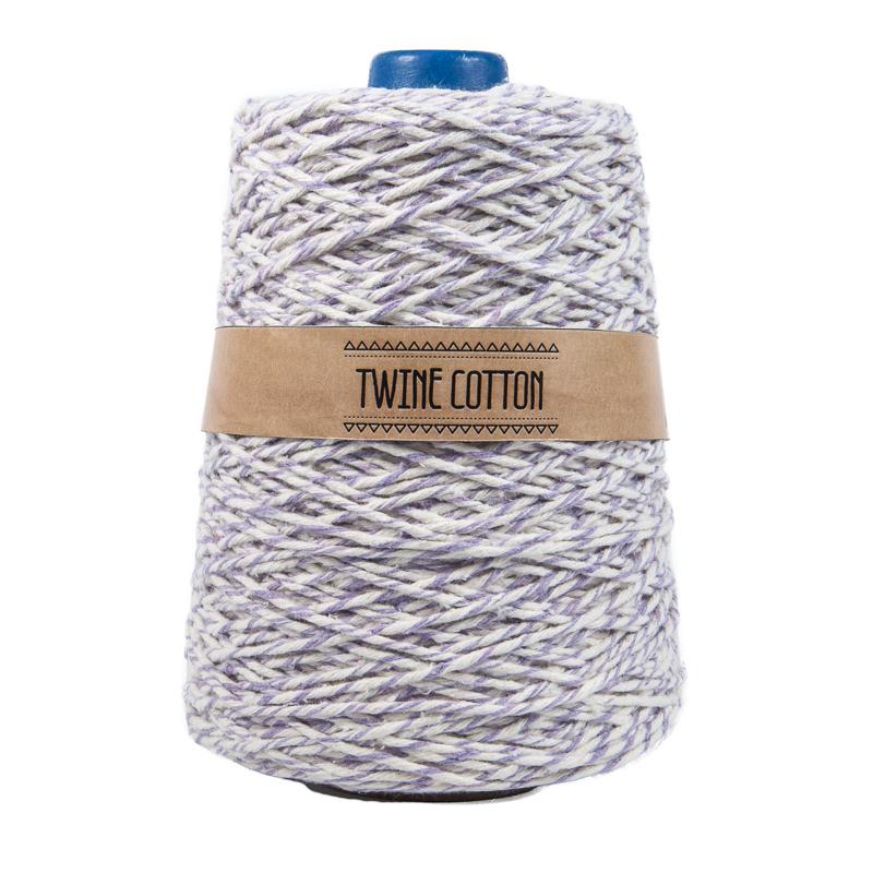 Twine Cotton Bicolor - Lilás