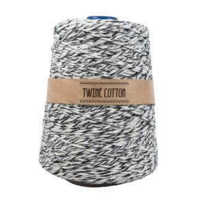 Twine Cotton Bicolor - Preto