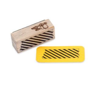 Carimbo Washi Tape Listras