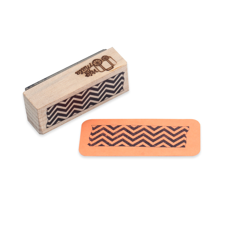 Carimbo Washi Tape Chevron