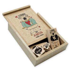 kit contém amor