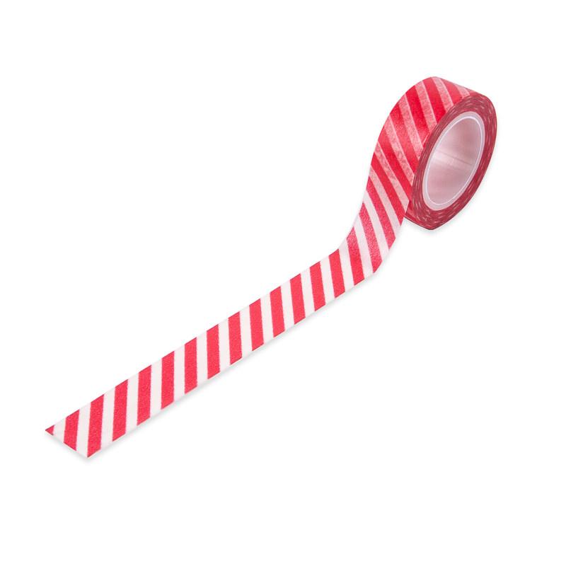 Washi Tape Listras Vermelhas