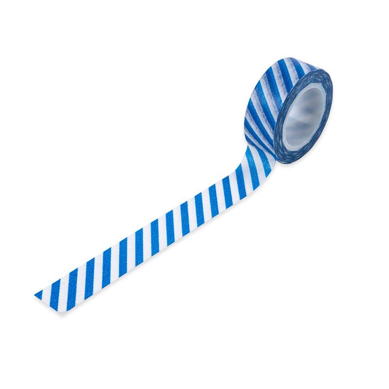 Washi Tape Listras Azul