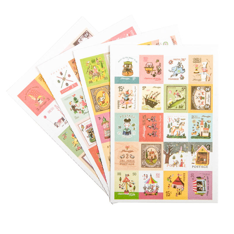 Stamp Stickers Françoise