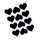 Adesivo Quadro Negro Coração