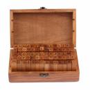 carimbo alfabeto