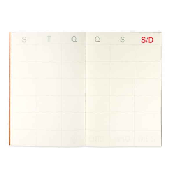 Mini Agenda Mensal