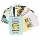 Mini Cartões Ilustrados 3