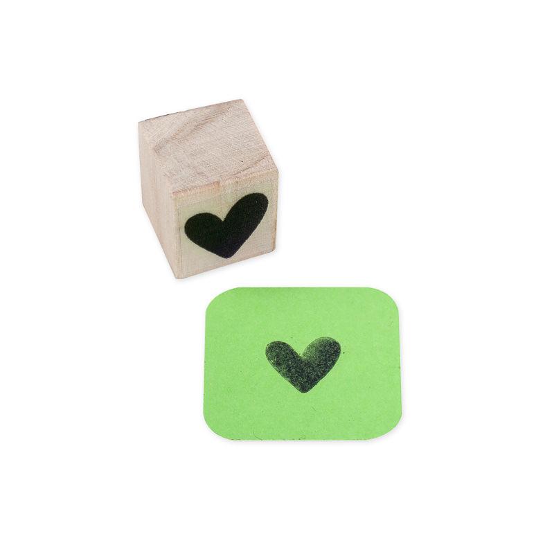 Carimbo Mini Coração