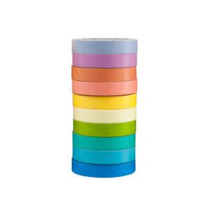 kit washi tape arco iris
