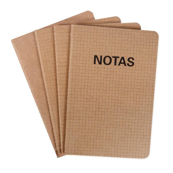 cadernos quarteto kraft