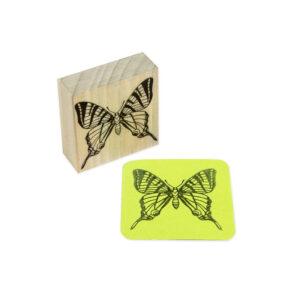 carimbo borboleta cora