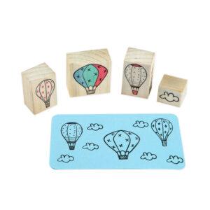 carimbo trio balão mágico