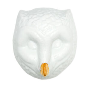 coruja porcelana