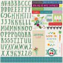 Adesivo Alfabeto + Frases