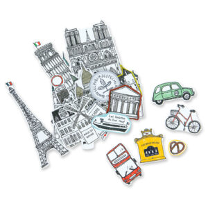 Adesivos Viagem a Europa