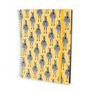 caderno universitário zebra