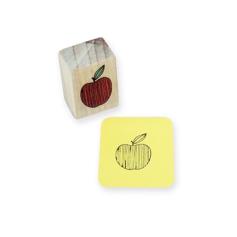 carimbo maçã