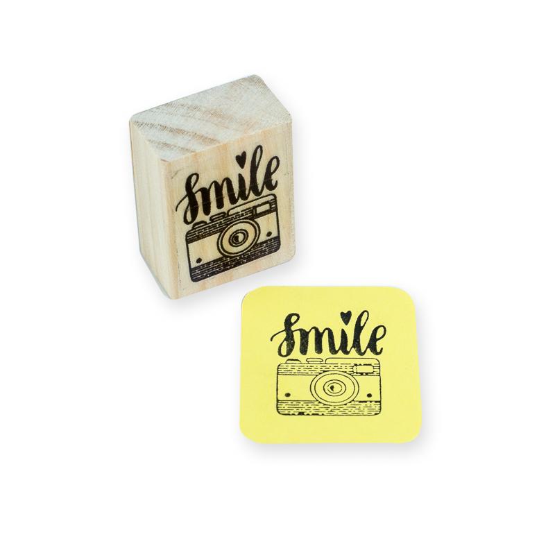 carimbo mini máquina smile