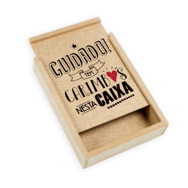 caixa para carimbos