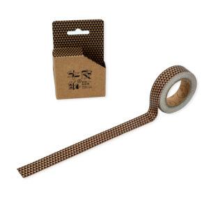 masking tape kraft geométrica