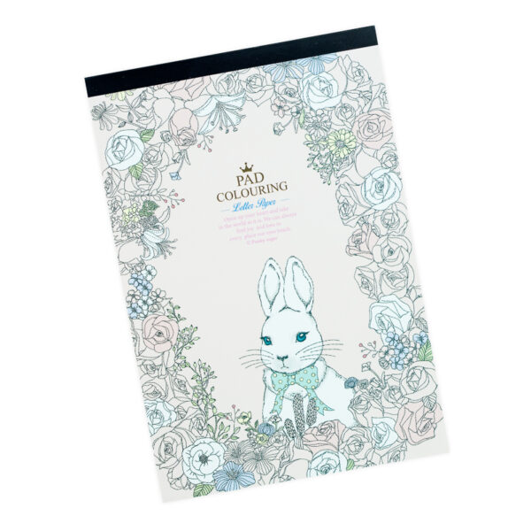 Bloco para Carta - coelho