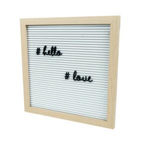 letter board