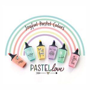 stabilo mini boss pastel love 1