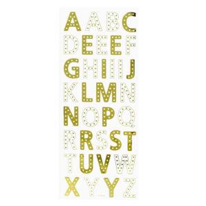 Adesivos Letras Gold