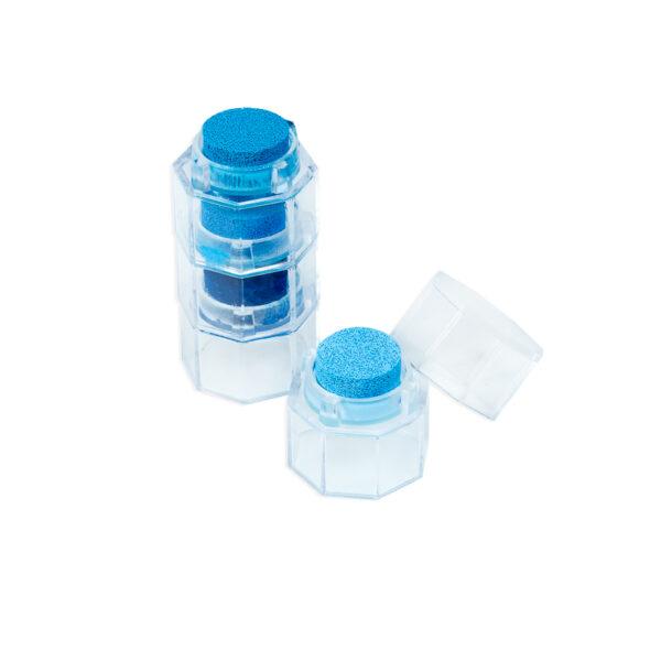 Kit Mini Carimbeiras - Azul