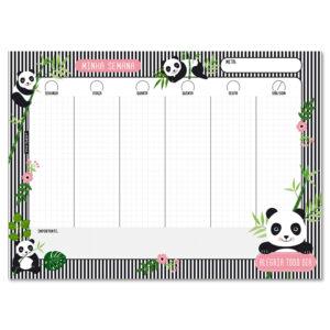 panner semanal panda
