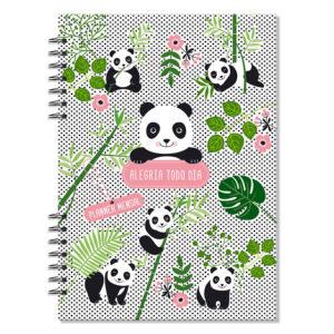 planner mensal panda