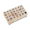Carimbo Alfabeto – 28 peças