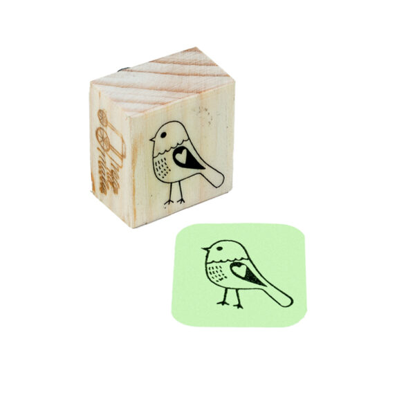 Carimbo Pássaro Julieta