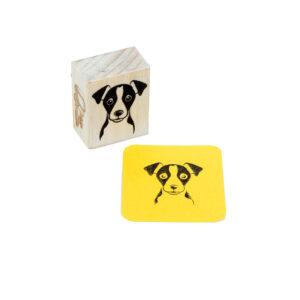 carimbo jack russel dog
