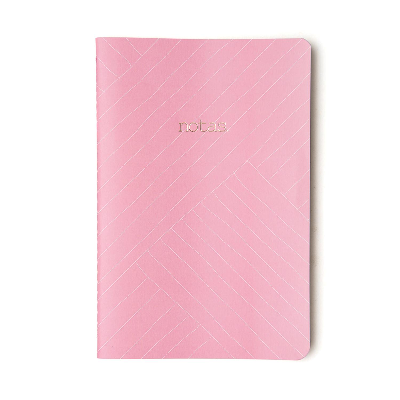 Caderno Pastel Rosa – Pontado