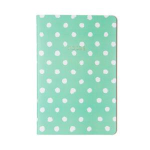 Caderno Pastel Verde – Pontado