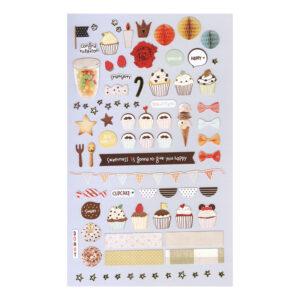 Adesivos Cupcake