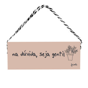 Placa Gentil