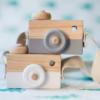 Maquina Fotografica de madeira 4