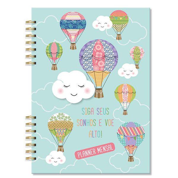Planner Mensal Sonhos