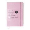 Bullet Journal Pontado - Rosa