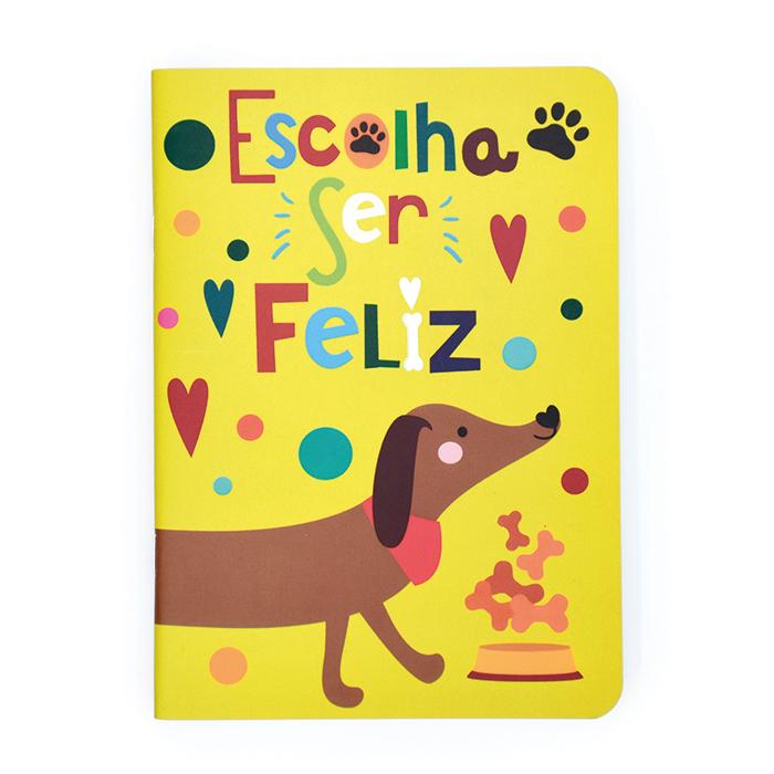 Caderno Pontado Dogs