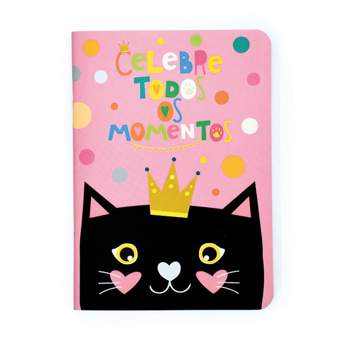 Caderno Pontado Cats